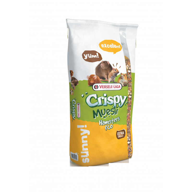 Versele-Laga Crispy Muesli - Hamsters & Co