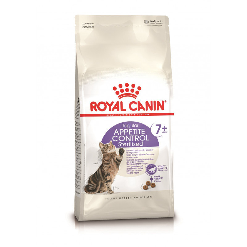Royal Canin Sterilized 7+ Appetite Control